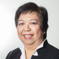 Ging Ledesma, Oikocredit's Investor Relations and Social Performance Director